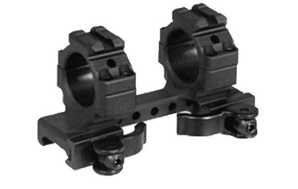 "Leapers UTG Integral 1"" Med-pro QD Ring Mount, 2 Top Slots,95mm Base - Rifleworks Shooting Accessories"