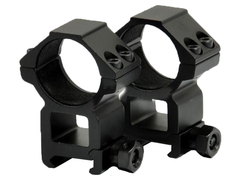 High Profile 25mm Scope Mounts Rings for 20mm Rails - Rifleworks Shooting Accessories