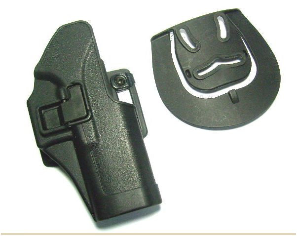 Holster With Belt Loop & Clip Over Fitting for Airsoft Glock - Rifleworks Shooting Accessories