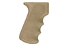 Hogue OverMolded AK-47/AK-74 Rubber Grip with Finger Grooves - Flat Dark Earth - Rifleworks Shooting Accessories
