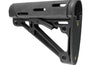 Hogue OverMolded® collapsible buttstock Fits Commercial Buffer Tube - Rifleworks Shooting Accessories