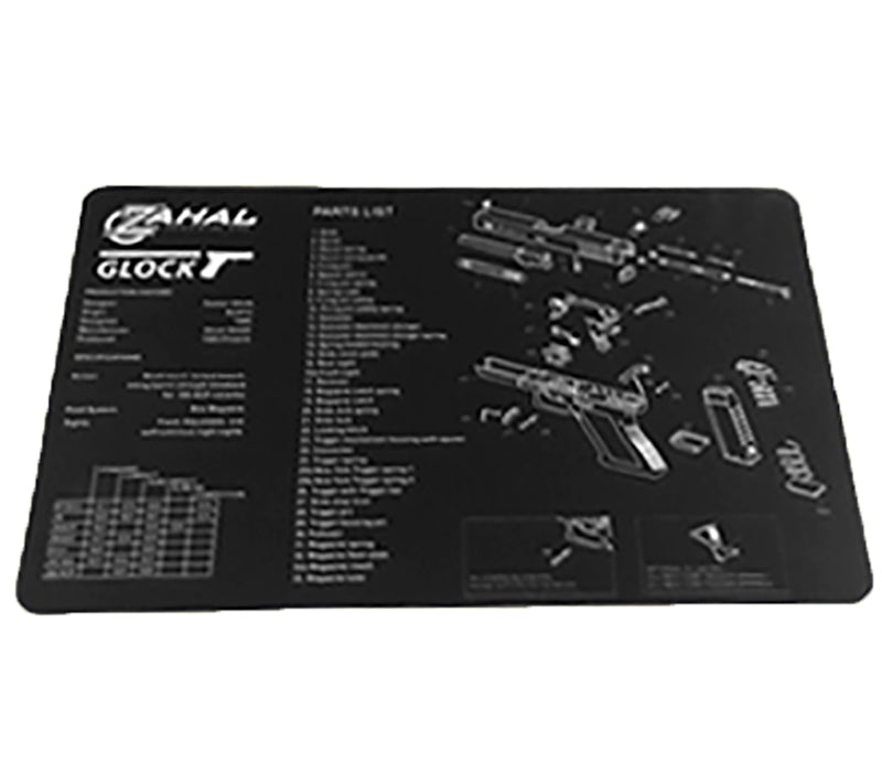 Glock Cleaning Mat - Rifleworks Shooting Accessories