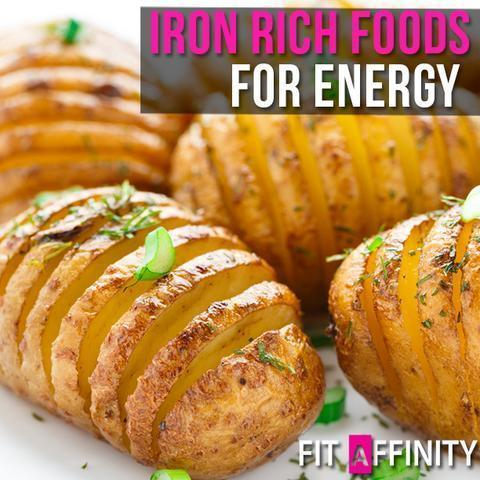 Iron Rich Foods for Energy