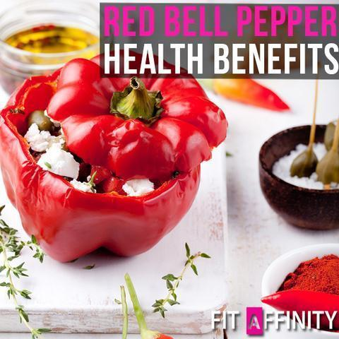 Health Benefits of Red Bell Peppers