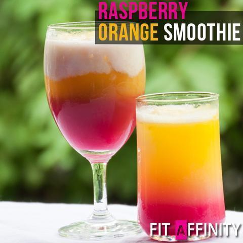 Healthy Raspberry Orange Smoothie