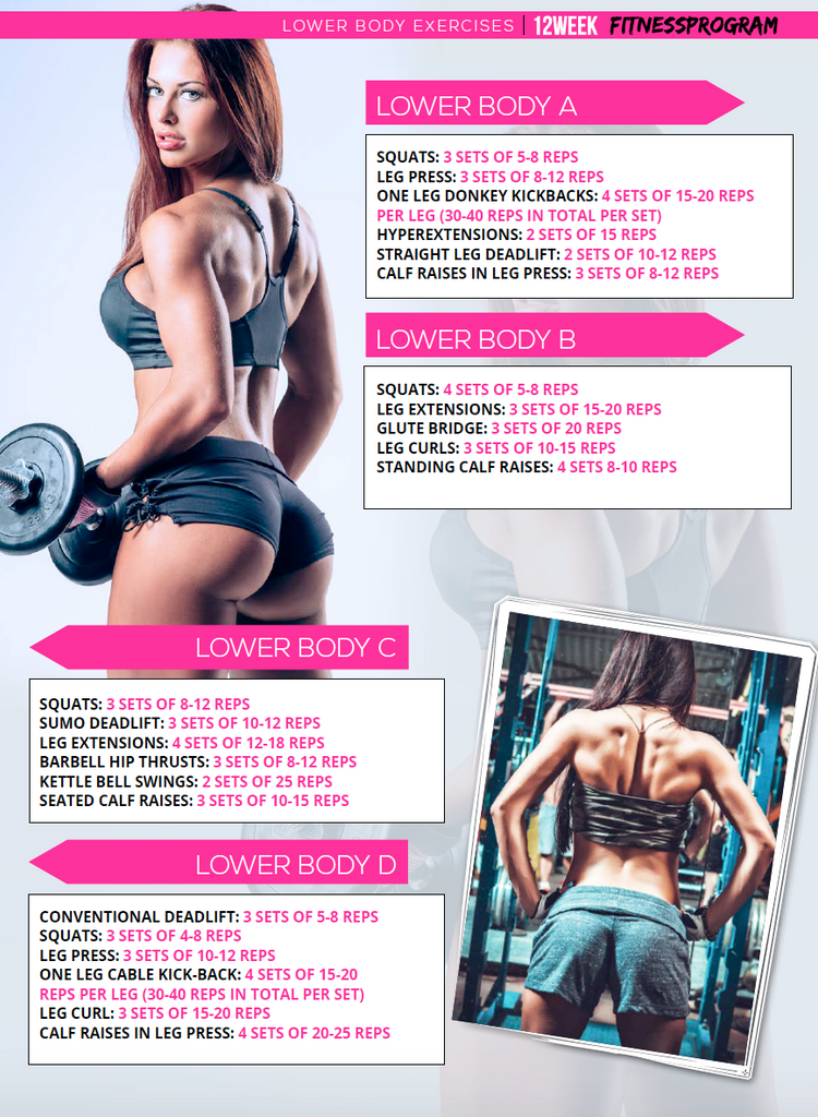 butt workout plan for women