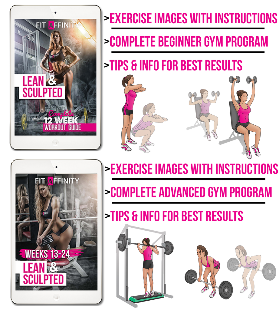 Gym workout plan & Lean and sculpted workout plan