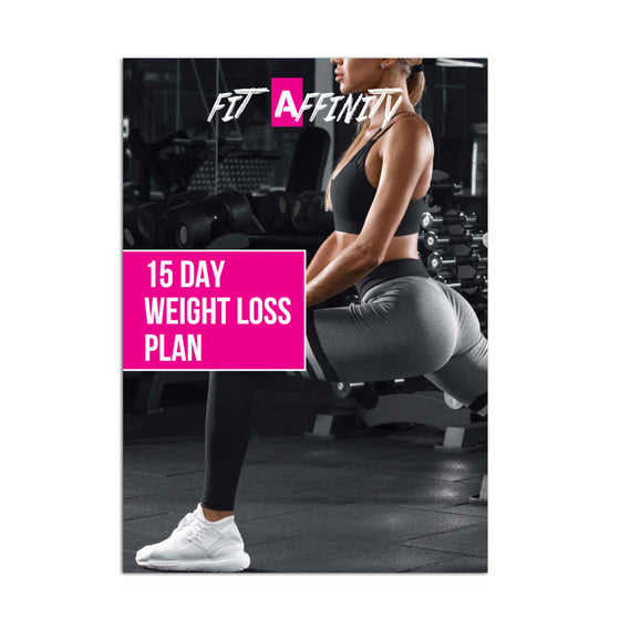 15 Day Weight Loss Plan (Hard Copy)