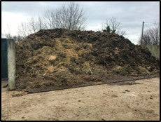 Decomposing the Farm Yard waste materials