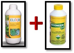 spray for powdery mildew disease control on watermelon and muskmelon crops