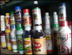 insecticides used in insect control