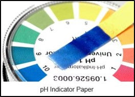 pH test indicator