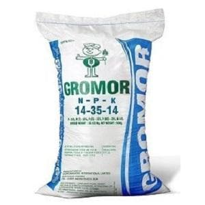 GROMOR 14-35-14 CONVENTIONAL FERTILIZER