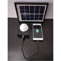 SOLAR EMERGENCY CHARGER WITH USB MOBILE CHARGING