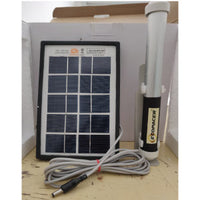 RECHARGEABLE LIGHT STICK WITH SOLAR PANEL