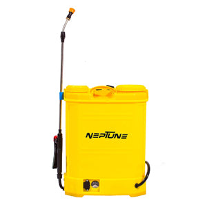 NEPTUNE SIMPLIFY FARMING KNAPSACK/BACKPACK BATTERY OPERATED 16 LITER GARDEN SPRAYER VN-12