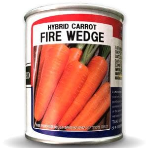 FIRE WEDGE CARROT