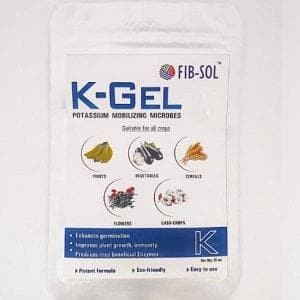 K-GEL – BIOACTIVE: POTASSIUM MOBILIZING BACTERIA