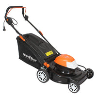 NEPTUNE SIMPLIFY FARMING 1800 WATT ELECTRIC ROTARY LAWN MOWER FOR STRIPED EFFECT ON MEDIUM TO LARGE SIZED LAWNS