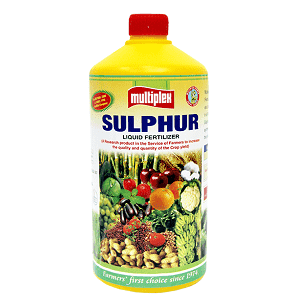 MULTIPLEX SULPHUR LIQUID FERTILIZER - BigHaat.com