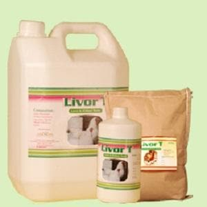 LIVOR T (LIVER & KIDNEY TONIC - SYNTHETIC. (LIQUID / FEED MIX)