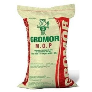 GROMOR MOP CONVENTIONAL FERTILIZERS