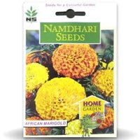 NS AFRICAN MARIGOLD DWARF INDIAN MIX - BigHaat.com