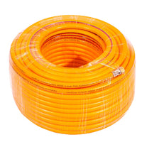 NEPTUNE SIMPLIFY FARMING 5 LAYERS PVC HIGH-PRESSURE SPRAY HOSE WATERING PIPE FOR GARDENING DRIP, IRRIGATION, CAR WASHING (ORANGE)