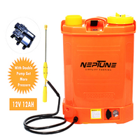 NEPTUNE SIMPLIFY FARMING KNAPSACK BATTERY OPERATED 16L DOUBLE PUMP GARDEN SPRAYER BS-13-PLUS
