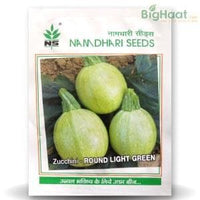 NS ZUCCHINI - ROUND LIGHT GREEN - BigHaat.com
