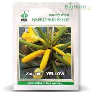 NS 9881 ZUCCHINI - LONG YELLOW - BigHaat.com