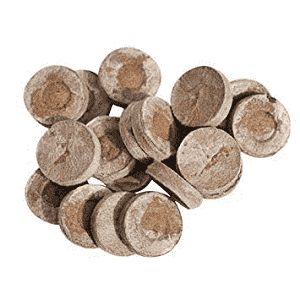 COIR SEEDLING COINS COCOPEAT DISC, 50MM JIFFY PLUGS - BigHaat.com