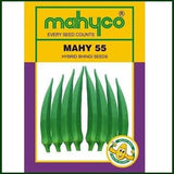 Vegetable Seeds - MAHY No. 55 BHENDI (OKRA)