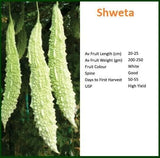 Vegetable Seeds - SHWETA BITTER GOURD
