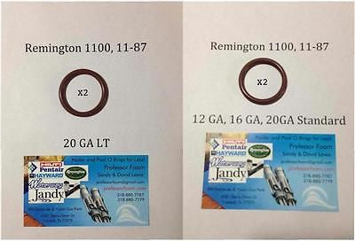 2 each Combo Remington Barrel Seal o ring 12,16, 20GA STD & 20LT 1187 11-87 1100