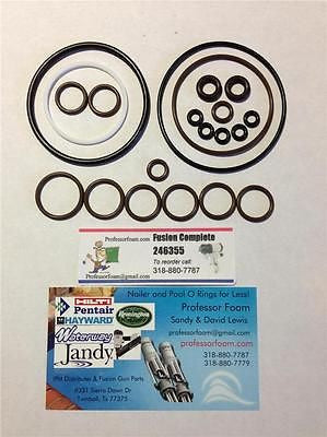 20X - 246355 Professor Foam™ aftermarket O-ring Rebuild Kit fits Graco® Fusion Gun Air Purge AP