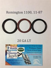 Remington 1100, 1187, 11-87 20ga LT Barrel Gas Seal Viton O-ring, QTY 3 LOW COST