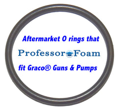 Professor Foam™  GC0043 13867-08 aftermarket replacement Side Block Filter Assy O-ring - fits Graco® Glas-Craft Probler P2
