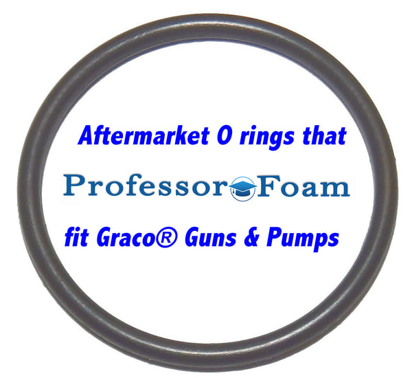 Professor Foam™ 108833 7554-25 aftermarket replacement Front Air Piston O-ring that fits Graco® Glas-Craft Probler P2