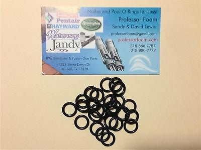 400 O RINGS FOR WACKY RIGGING 6 INCH SENKOS TOP QUALITY O-RINGS SENKO O RING