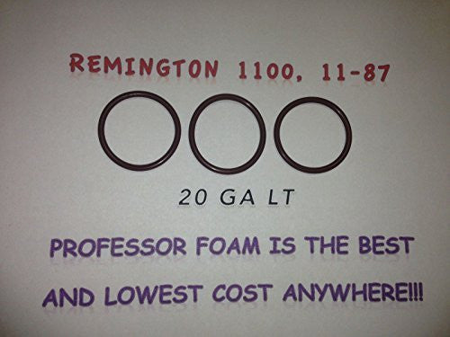 3 Remington O-ring Barrel Seals for Model 1100 20LT Gauge 11-87 20LT Ga From Professor Foam