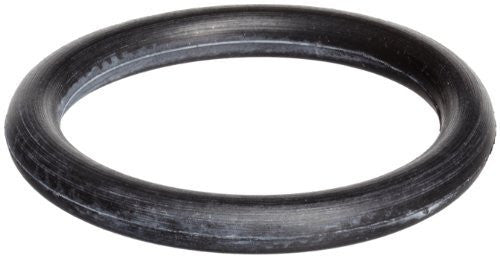 "438 Buna O-Ring, 70A Durometer, Black, 6-1/4"" ID, 6-3/4"" OD, 1/4"" Width (Pack of 1000)"