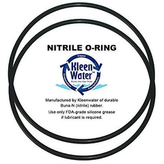 Whirlpool WHKF-DWHBB WHKF-C9 Replacement Water Filter O-Rings by KleenWater (2)