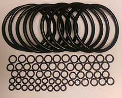 Universal Kegco Type O-Ring Ten Gasket Sets for Cornelius Home Brew Keg from Professor Foam