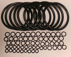 Universal Kegco Type O-Ring Ten Gasket Sets for Cornelius Home Brew Keg and Homebrewed With Pride keg sticker by Stir-Plate