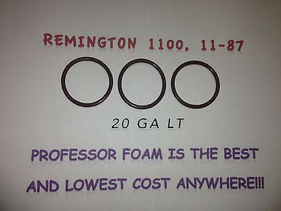 3 (three) Remington 1100 11-87 20 ga LT Shotgun Barrel Gas Seal O Ring LOW COST!