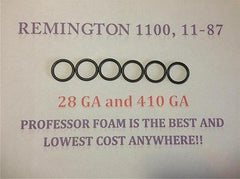 Remington 1100 11-87 28 GA & 410 GA Shotgun 6 Barrel Gas Seals O Ring LOW COST!