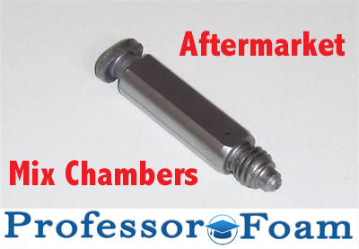 Professor Foam™ AR6060 Upgraded Aftermarket Mix Chamber that fits Graco® Fusion Air Purge AP