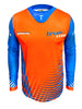 2021 TrueMX Transfer Jersey - ORANGE/BLUE