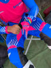 2021 TrueMX Transfer Gloves - PINK/BLUE